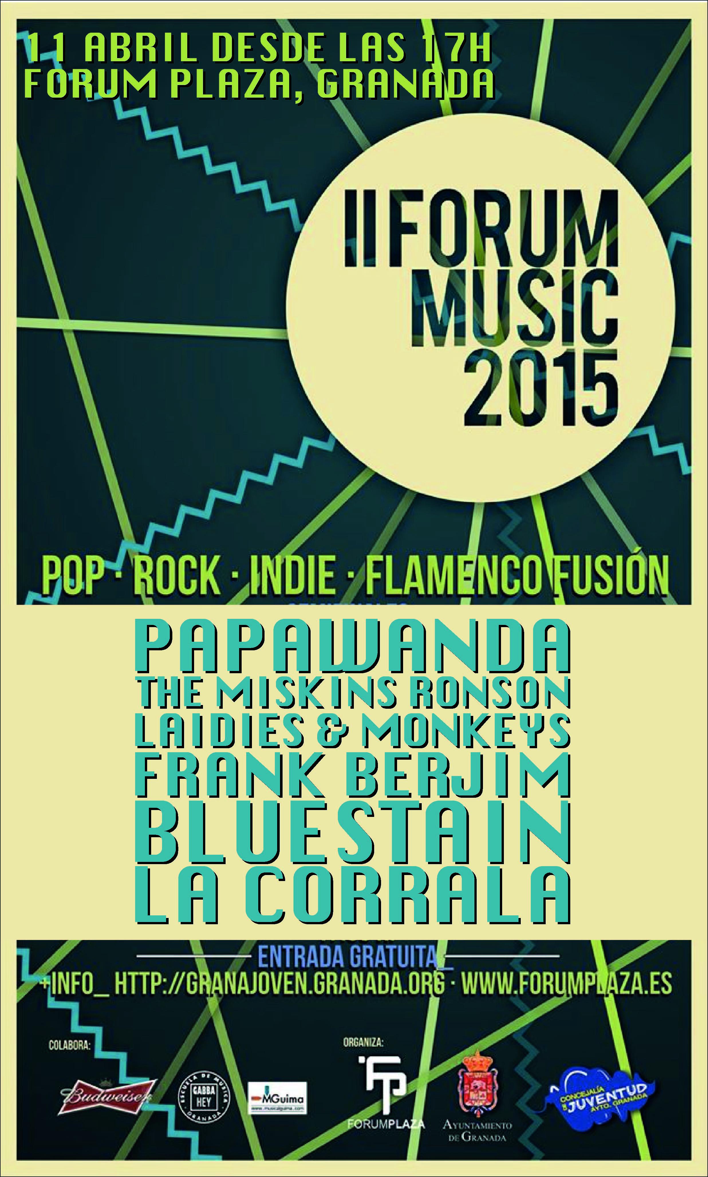 11 Abril|Forum Plaza Granada