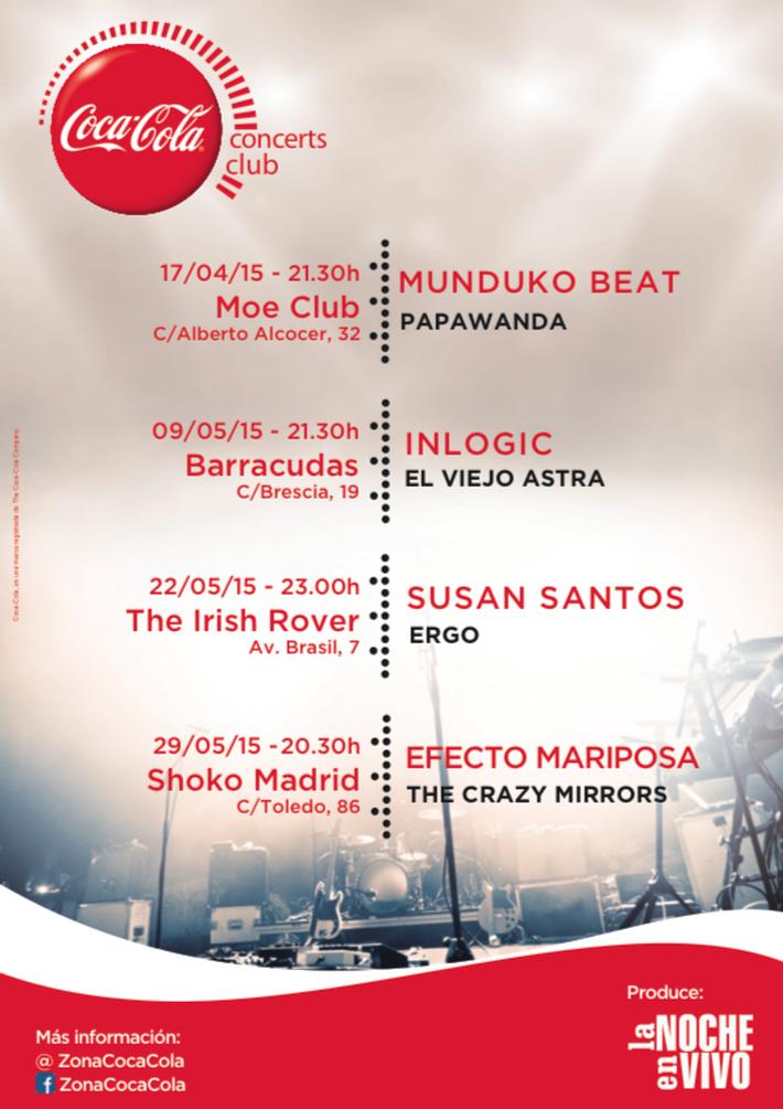 Coca-Cola Concerts Club 2015