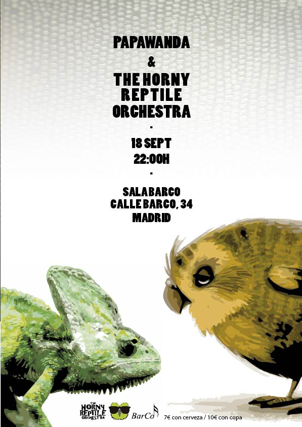 Papawanda + The Horny Reptile Orchestra