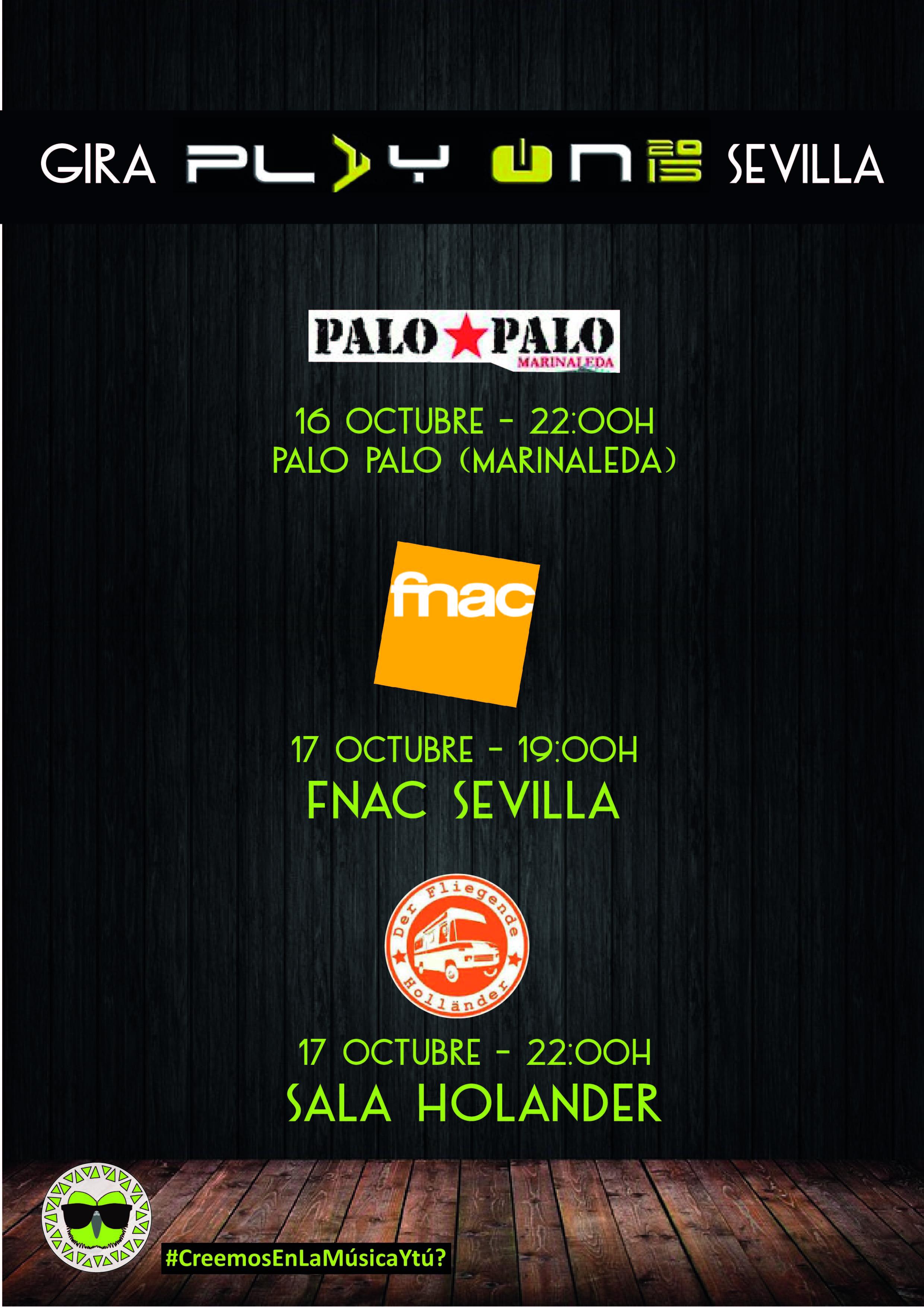 Cuadernos de Bitácora | Gira Play On Sevilla
