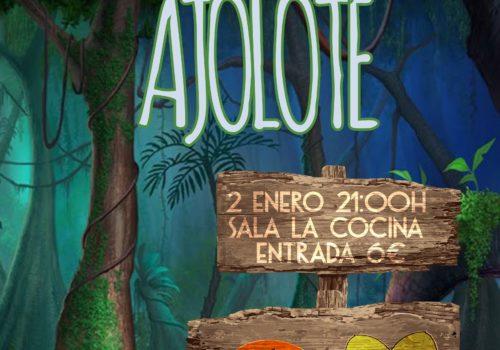 Papawanda Y Ajolote En Madrid | 2 Enero 2016 | La Cocina Rock Bar