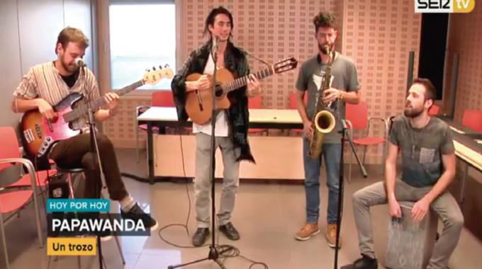 """Papawanda en Suena Madrid """"Hoy por hoy"""" (Cadena SER)"""